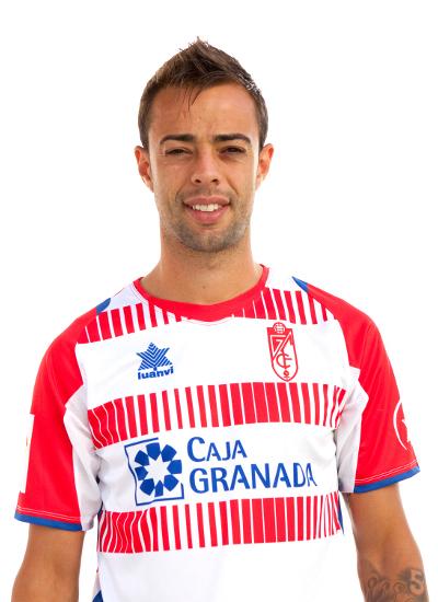 Foto de Benítez con la camiseta del Granada (Archivo 20minutos).
