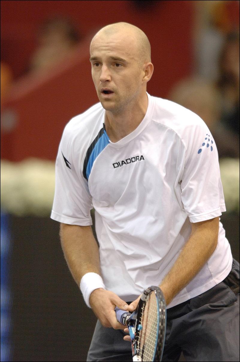 Ljubicic, en el Masters de Madrid de 2005 (GTRES).