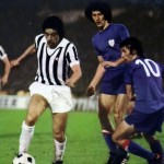Causio, en la ida de la final de la UEFA de 1977 (WIKIPEDIA).