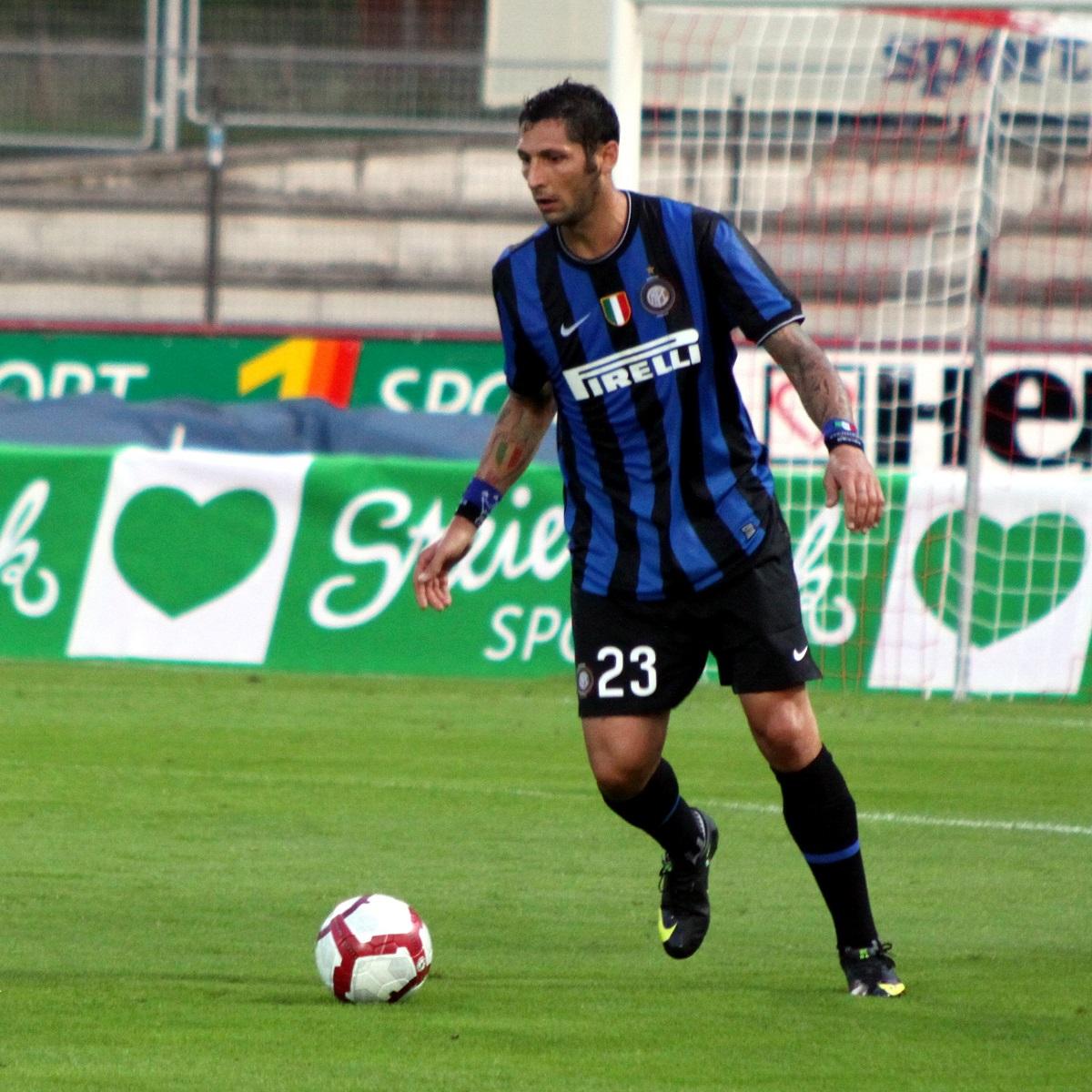 Materazzi, con el Inter (WIKIPEDIA).