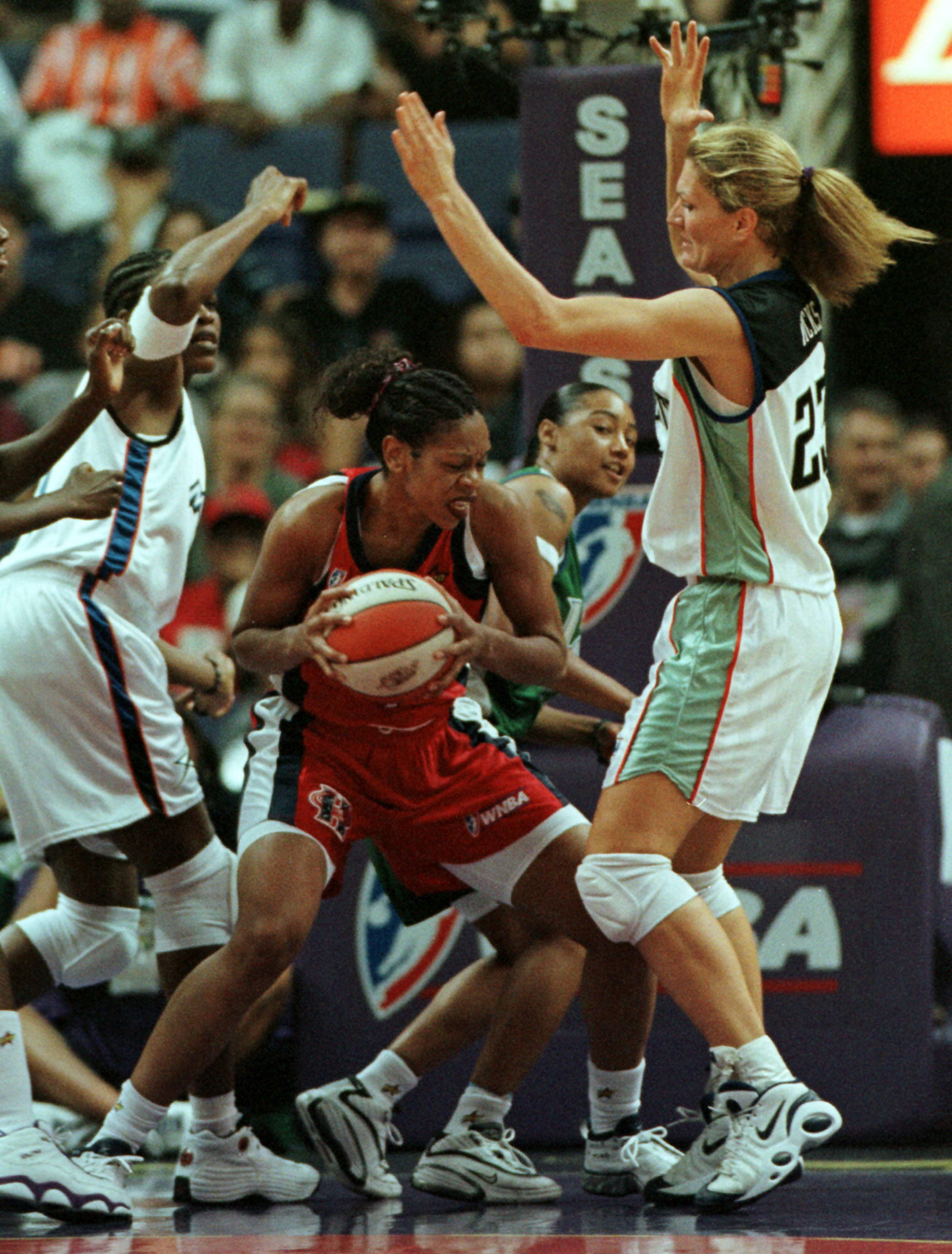 Tina Thompson, en el All Star de la WNBA del año 2000 (Archivo 20minutos).