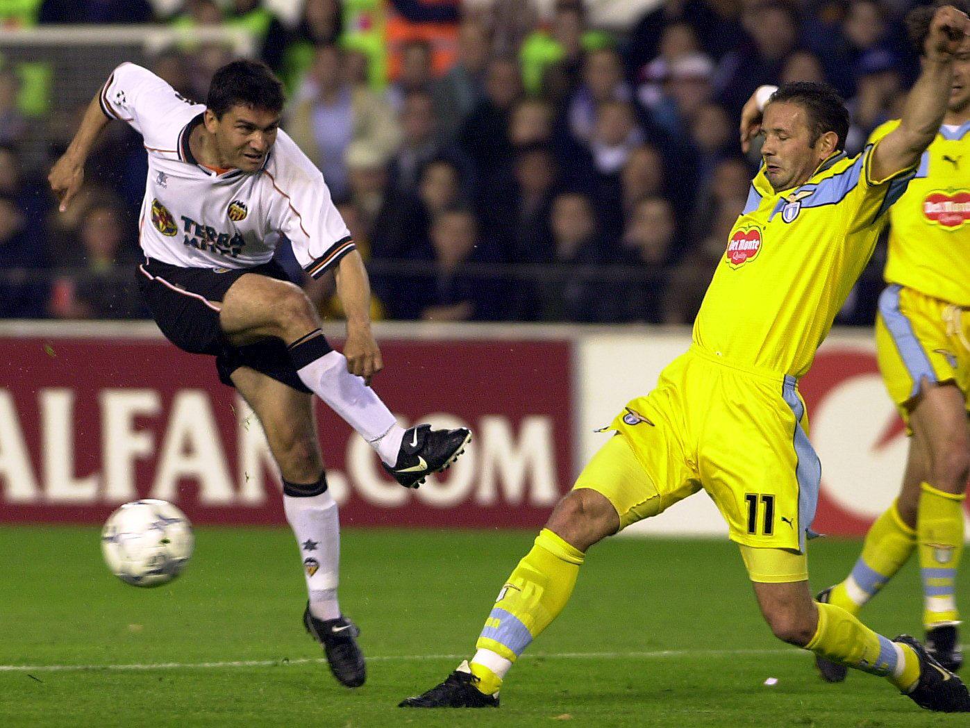 Juan Sanchez, en un partido de Champions en Mestalla ante la Lazio (Archivo 20minutos).