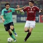 Van Bommel, en un Milan-Barça de 2011 (Archivo 20minutos).