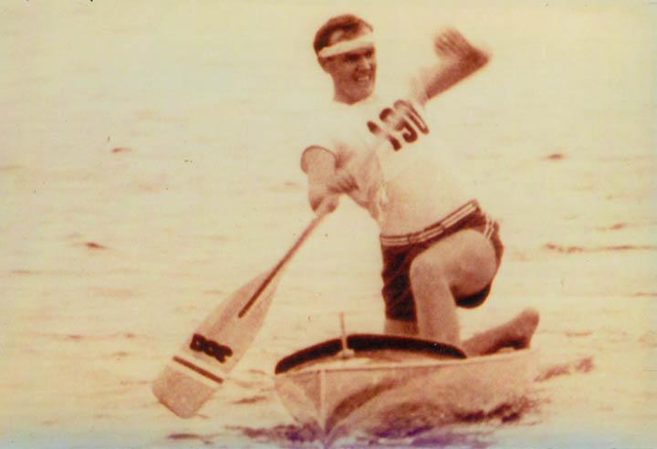Frank Havens, en los Juegos de 1952 (WIKIPEDIA).