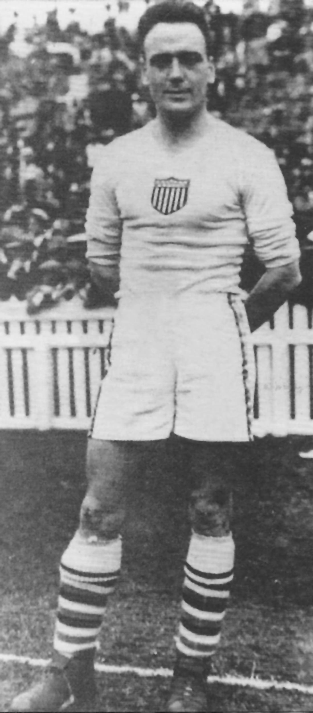 George Moorhouse, con la selección estadounidense (WIKIPEDIA).