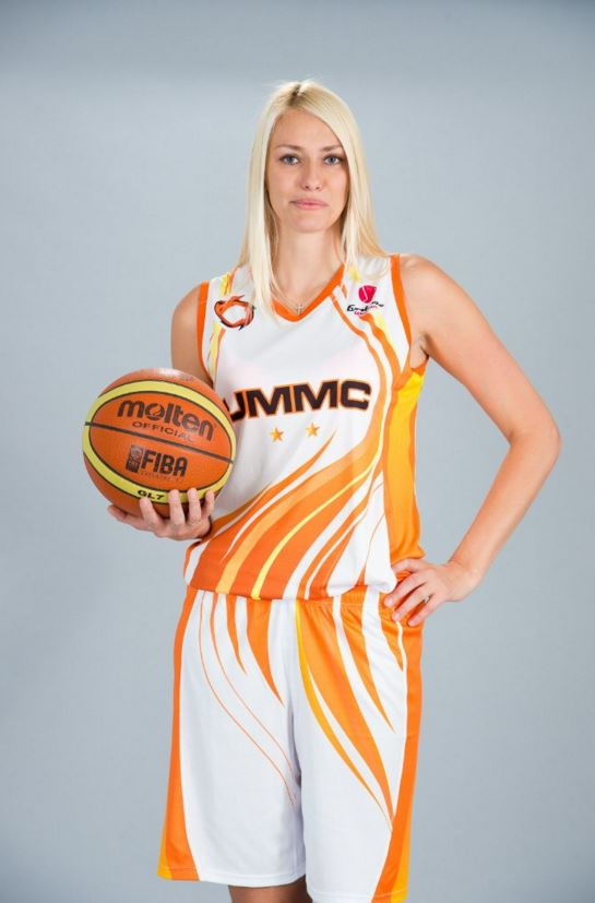Maria Stepanova, con el uniforme del UMMC (VK.com)