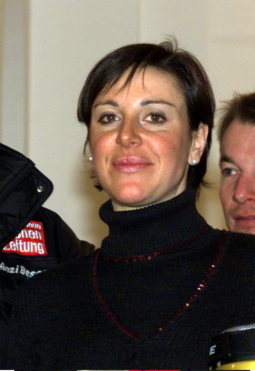 Compagnoni, en un acto promocional en Italia en 2000 (Archivo 20minutos).