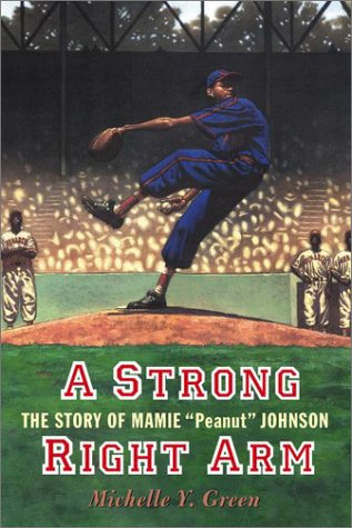 Portada de la biografía de Mamie Johnson (Puffin Books).