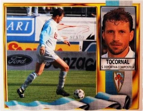 Cromo de Tocornal en su etapa del Compos (Ed. Este).