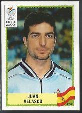 Cromo de Velasco de la Eurocopa de 2000 (PANINI).