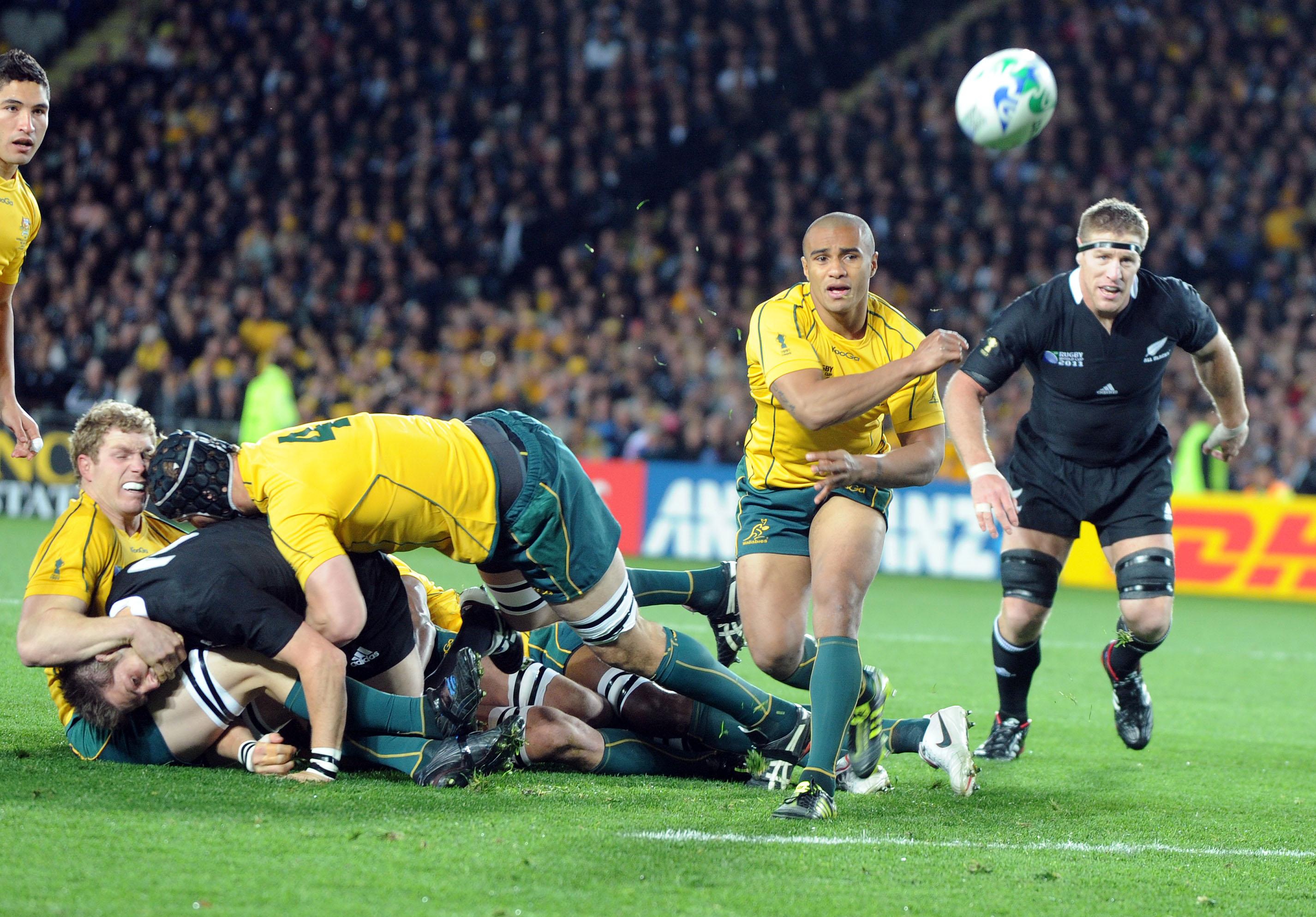 Imagen de un partido de rugby de la selección de Australia (GTRES).