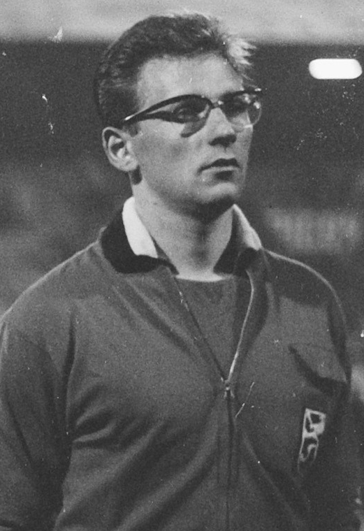 Jurion, en un partido de Bélgica en 1964 (WIKIPEDIA).