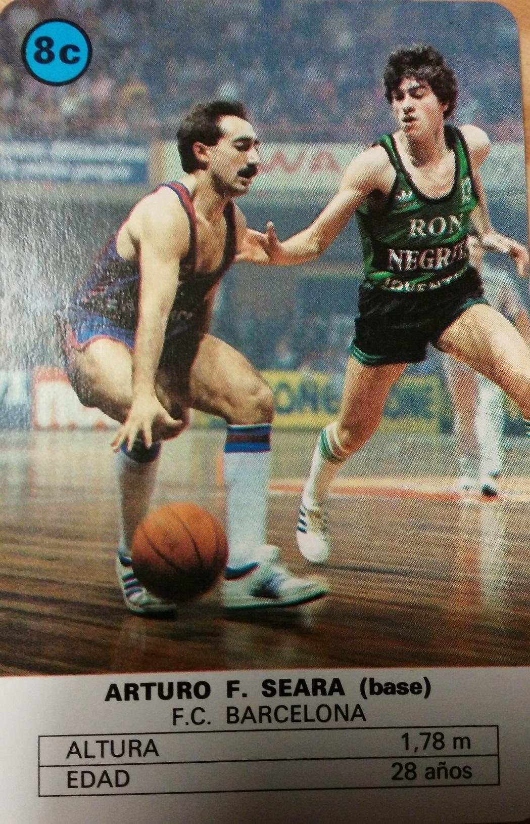 Naipe de Arturo Seara de 1985 (Heraclio Fournier).
