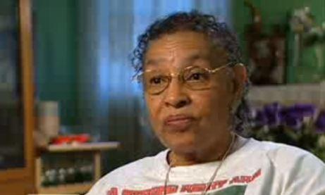 Imagen reciente de Mamie Johnson (YouTube).