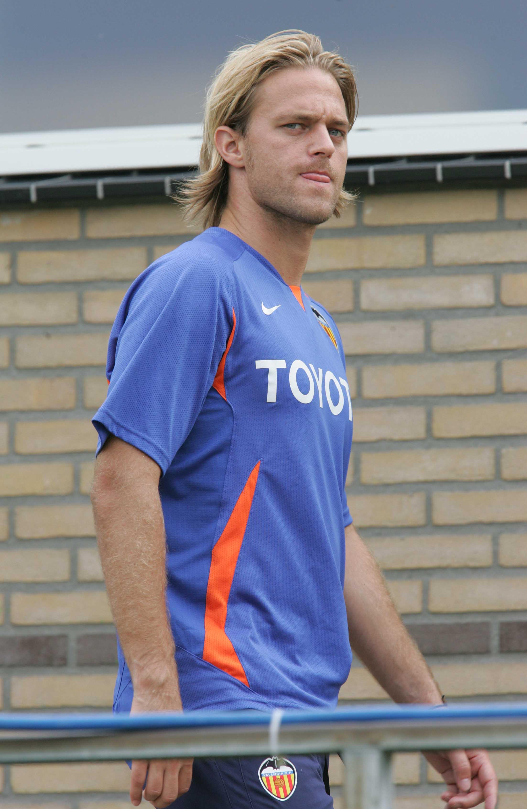 Hildebrand, antes de un entrenamiento del Valencia (Archivo 20minutos).