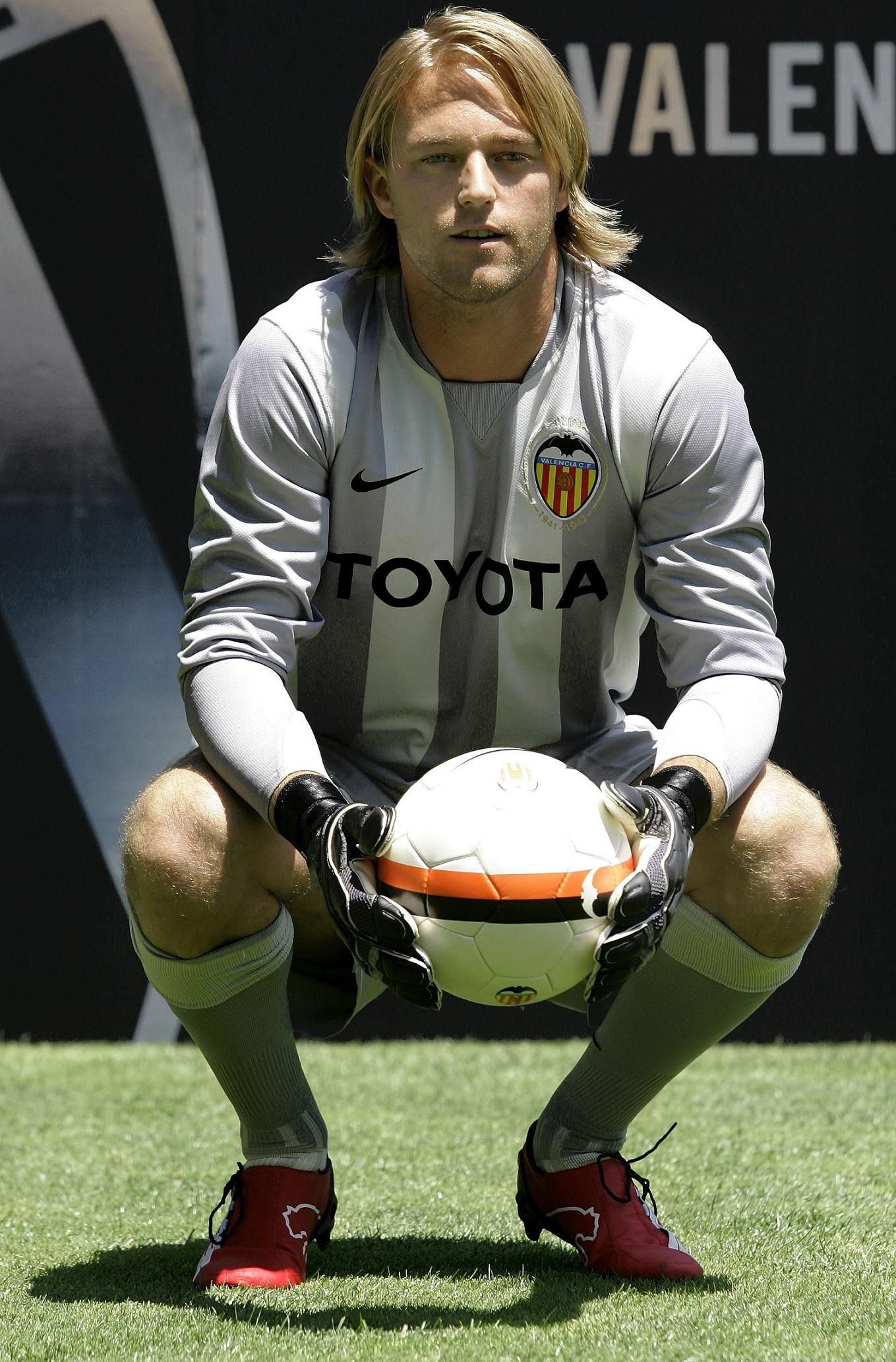 Hildebrand, el día de su presentación con el Valencia en 2007 (GTRES).