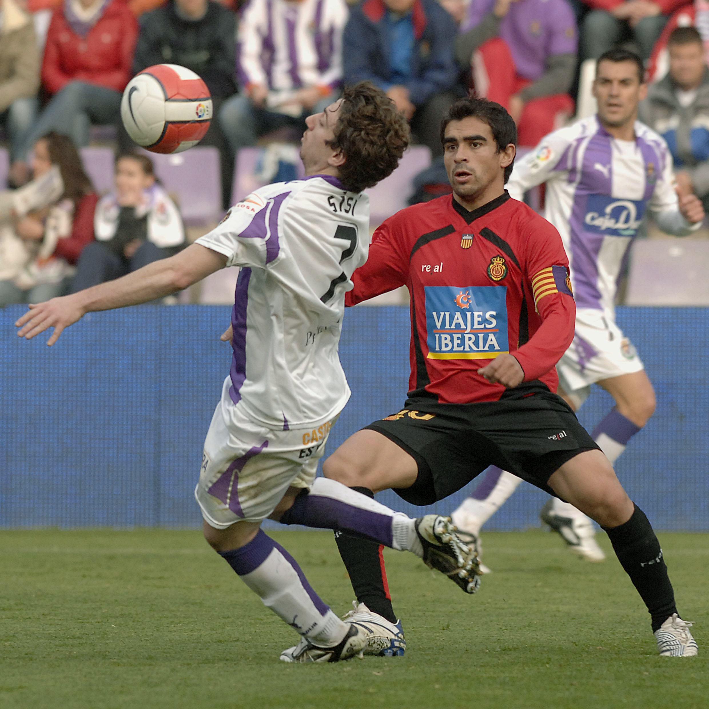 Ibagaza, en un partido del Mallorca en Valladolid en febrero de 2008 (Archivo 20minutos)