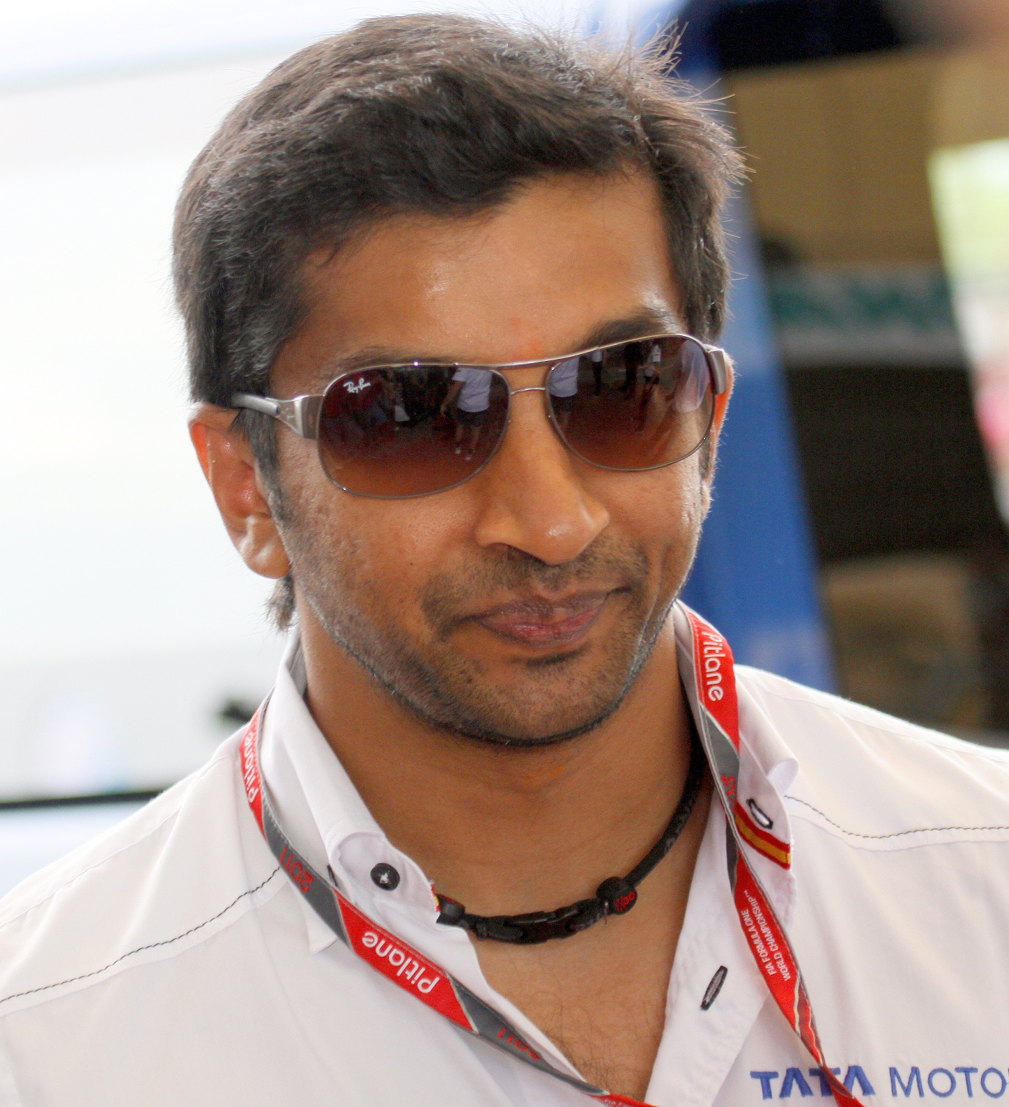 Karthikeyan, en 2011 (WIKIPEDIA).