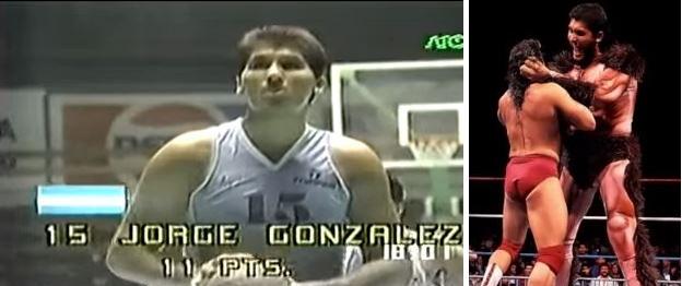 Jorge González, como jugador y como luchador (YOUTUBE).