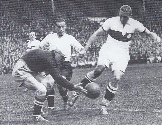 Escena de la final de la Copa de Francia de 1939 (WIKIPEDIA).