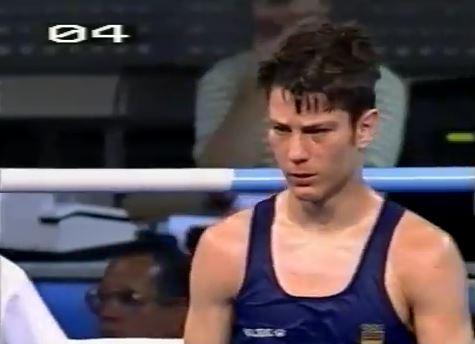 Reyes, en su último combate en Barcelona 92 (YOUTUBE).