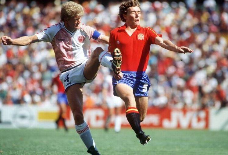 Butragueño, en 1986 (Archivo 20minutos).