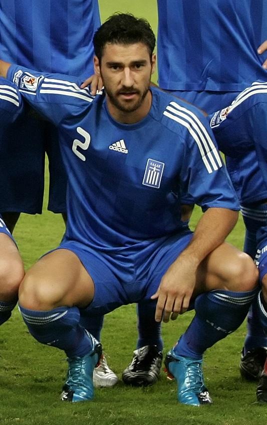 Seitaridis, posando con la selección griega (GTRES).