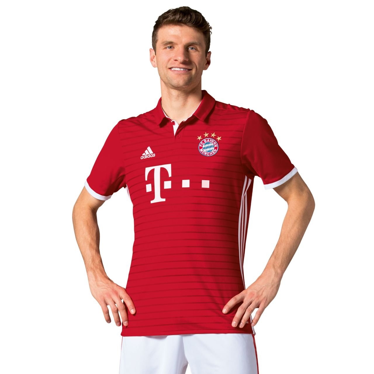 Uniforme del Bayern de Múnich para la temporada 2016/2017 (FC BAYERN).