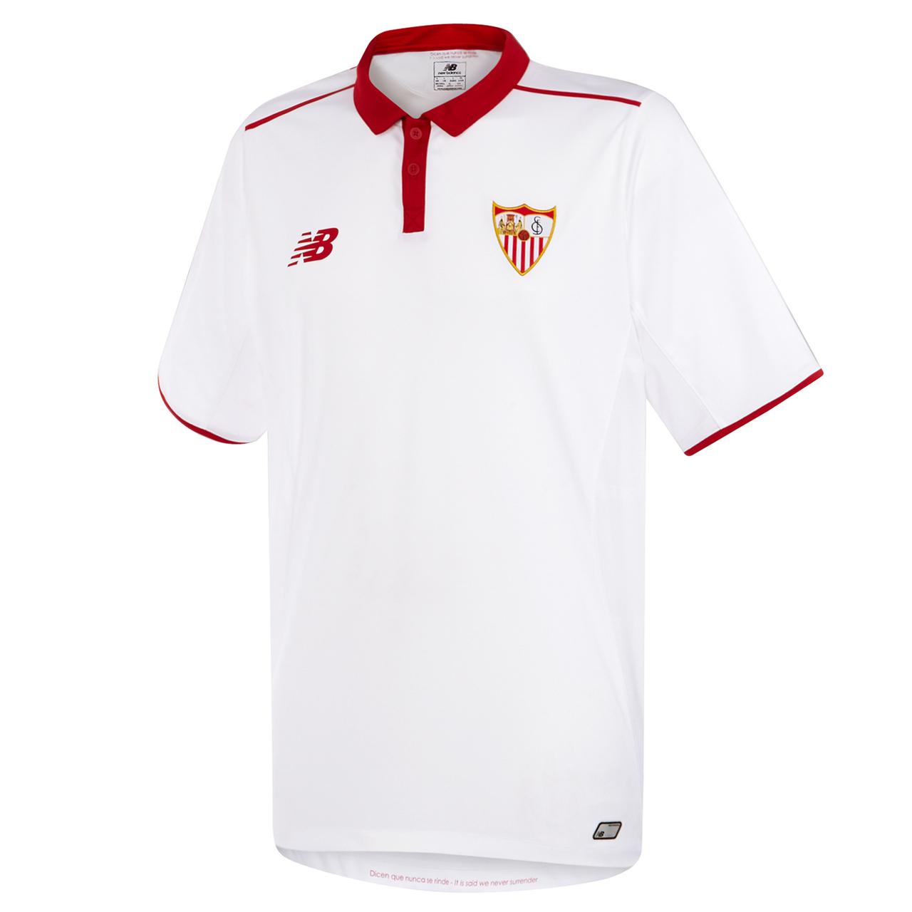 Primera equipación del Sevilla FC 2016/2017 (NB).