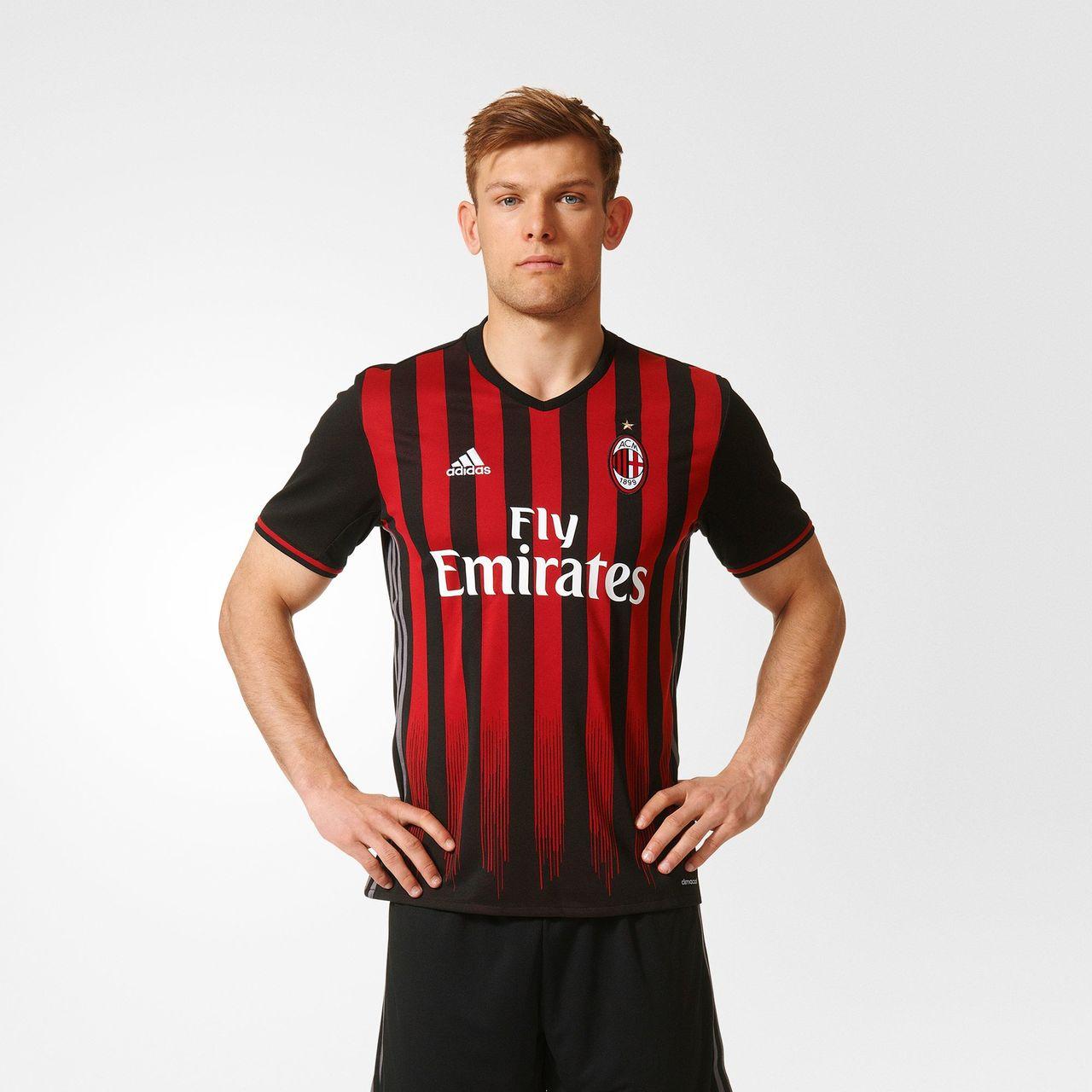 Camiseta del Milan 2016/2017 (ADIDAS).
