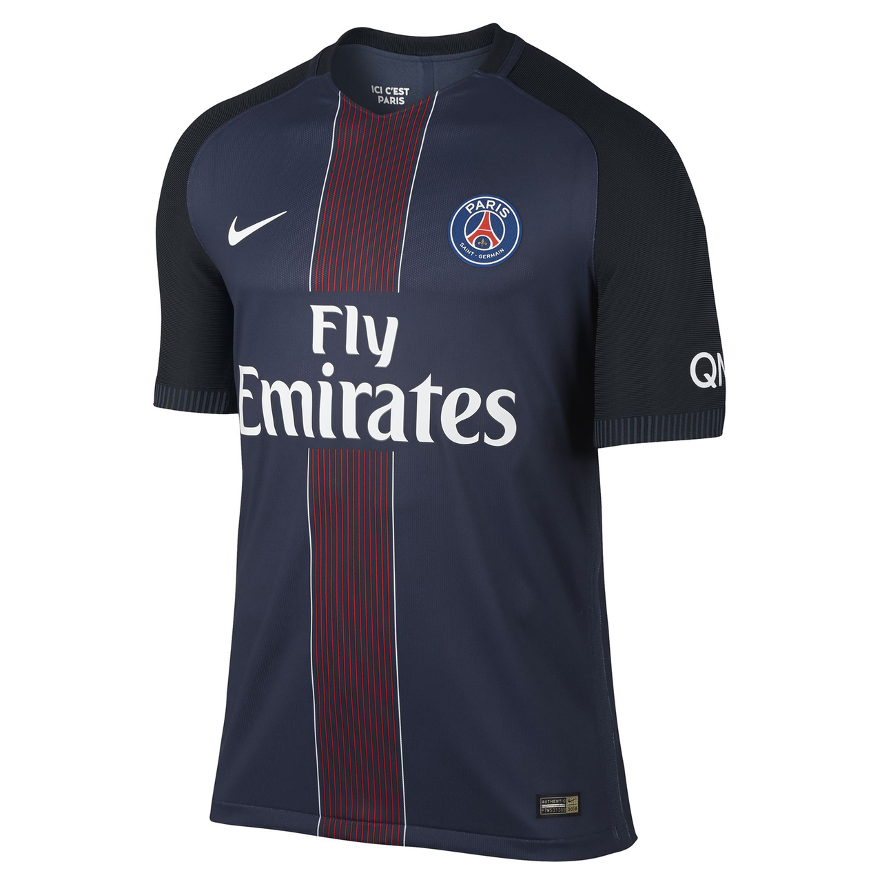 Camiseta del PSG para la temporada 2016/2017 (NIKE).