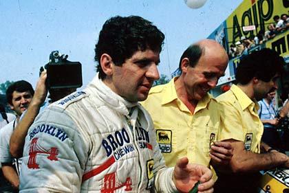 Scheckter, en Monza, en 1979 (WIKIPEDIA).