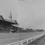 La grada principal, en 1901 (WIKIPEDIA).