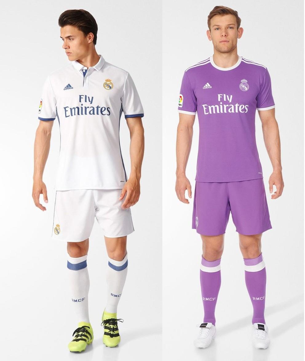 43472ac3c5167 Equipaciones del Real Madrid 2016 2017 (ADIDAS).