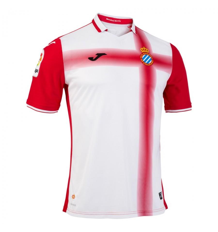 Segunda camiseta del Espanyol (RCDE)