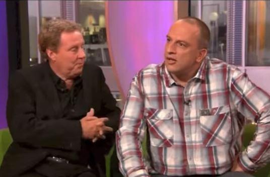 Redknapp y Davies, en un programa reciente de la televisión inglesa (YOUTUBE).