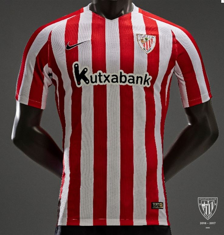 Camiseta del Athletic para la temporada 2016/2017 (ATHLETIC).