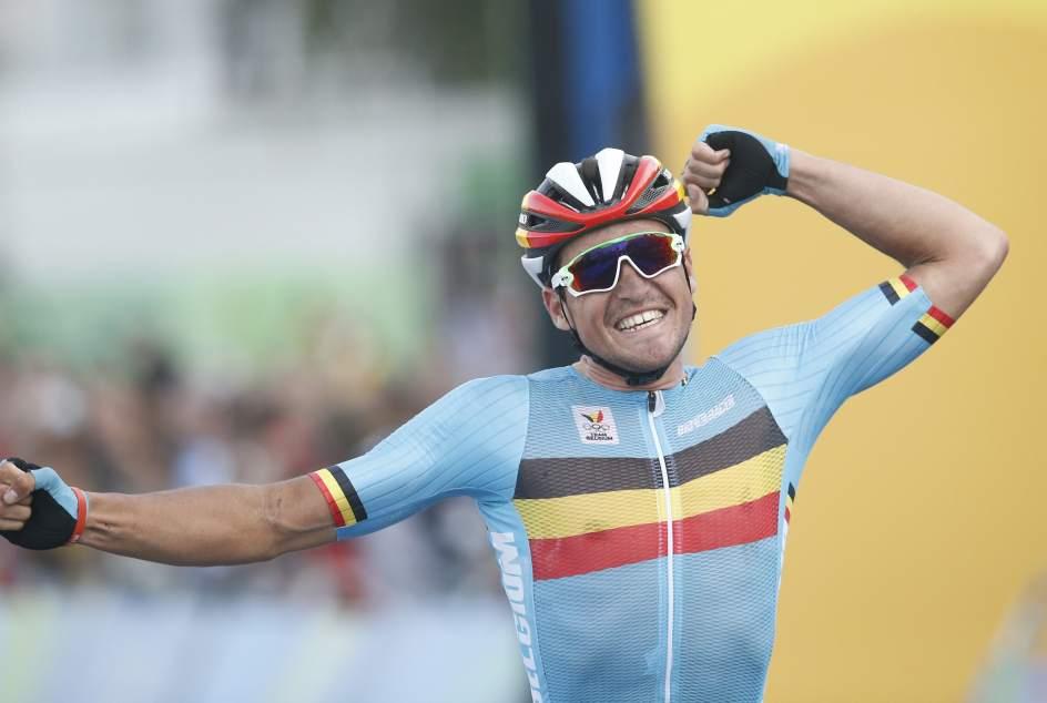 Greg van Avermaet, ganando el oro en los recientes Juegos de Río (EFE).