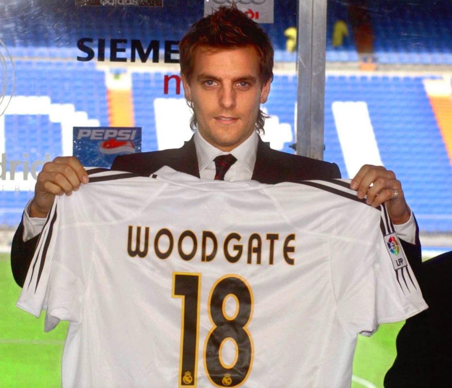 Woodgate, el día de su presentación con el Real Madrid , en agosto de 2004 (Archivo 20minutos)