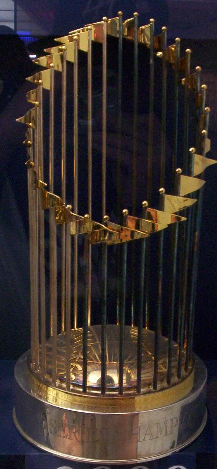 El trofeo de las Series Mundiales (WIKIPEDIA).