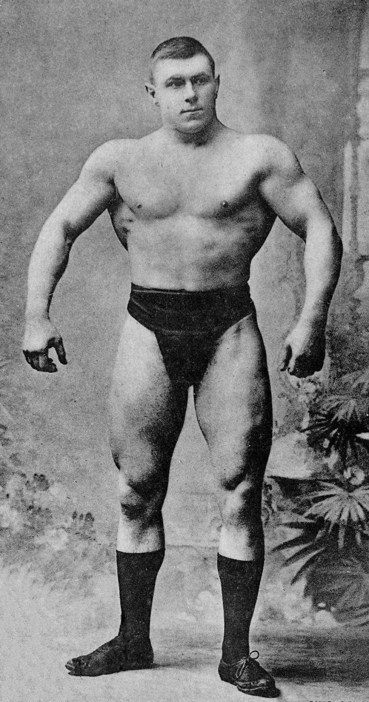 Hackenschmidt, en 1905 (WIKIPEDIA).