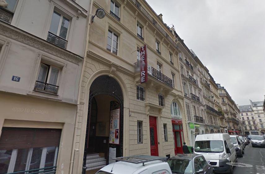Exterior de la sede de la YMCA en París (Google Street View).