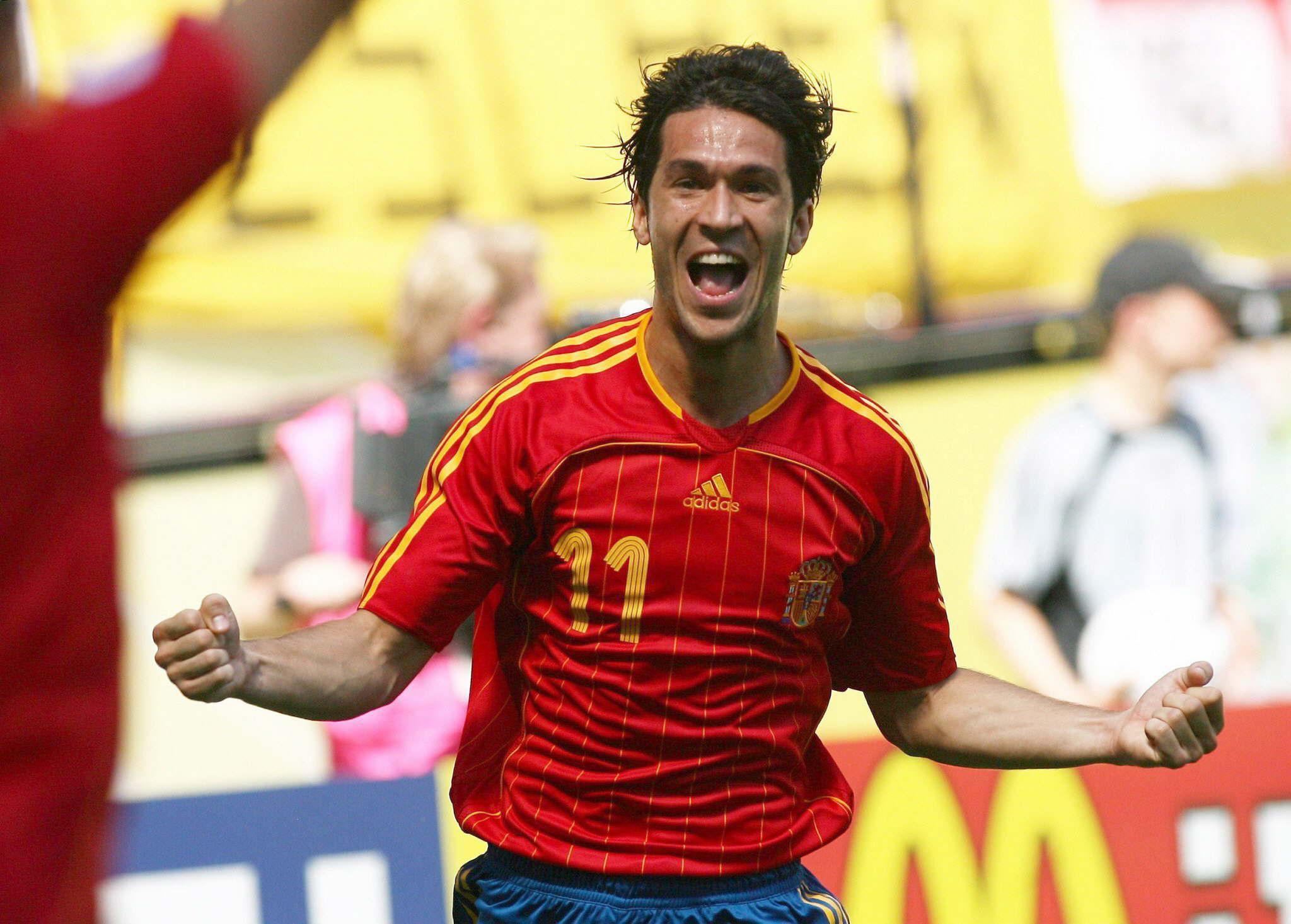 Luis García celebra un gol en el Mundial de Alemania 2006 (Archivo 20minutos).