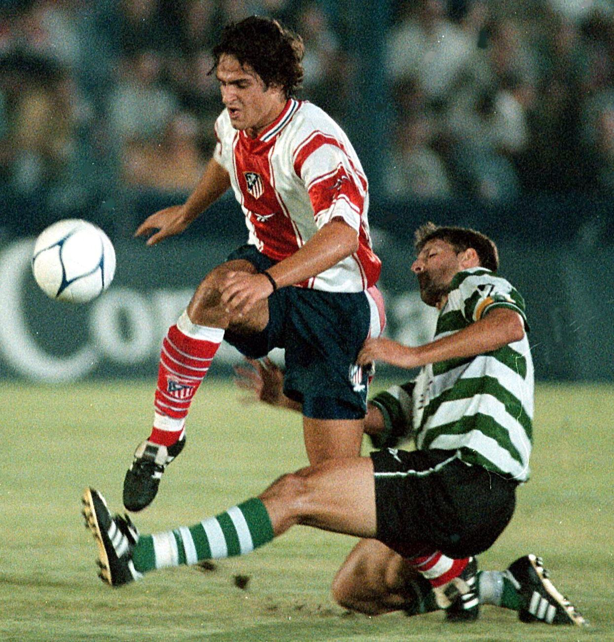 Hugo Leal, ante sus compatriotas del Sporting de Portugal en un amistoso de verano (Archivo 20minutos).