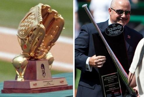 Combo de imágenes con ambos trofeos (WIKIPEDIA).