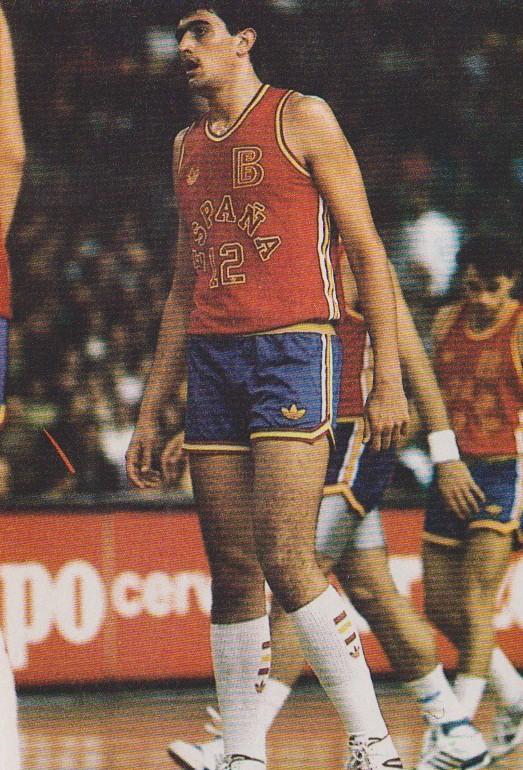 Morales, con la selección (ACB).