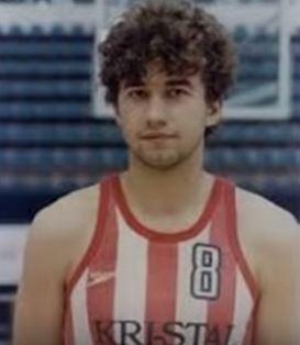 Jankovic, con la camiseta del Estrella Roja (YOUTUBE).