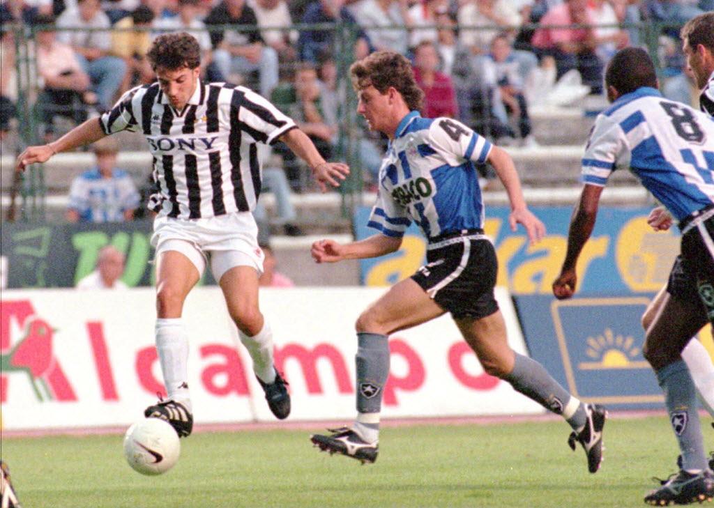 Imagen de aquella final de 1996 (EFE).