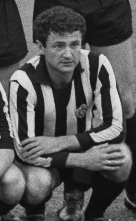 Galic, con el uniforme del Partizan (WIKIPEDIA).