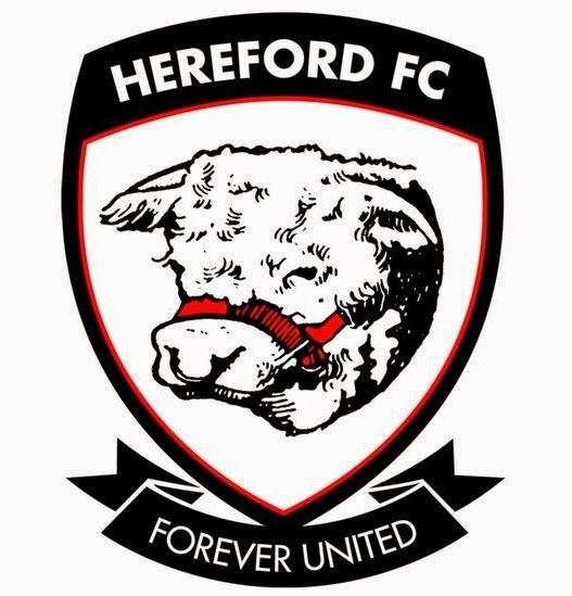 Escudo del Hereford FC (WIKIPEDIA).